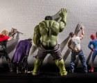 Fotógrafo muestra a superhéroes en su tiempo libre