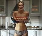 La chef argentina que te enseña a cocinar...en calzones