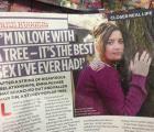 Chica piensa casarse con un árbol porque le da el mejor sexo de su vida