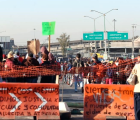 Vecinos protestan en Pantitlán; están hartos de atropellados