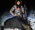 Cazadora sexy asesina animales y lo presume en su Facebook