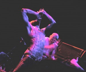 Death Grips Performing at the Music Hall of Williamsburg