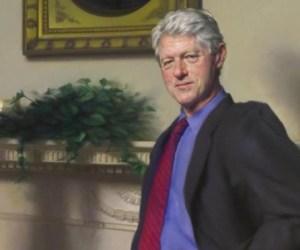 Los Clinton ODIAN esta pintura relacionada con Monica Lewinsky