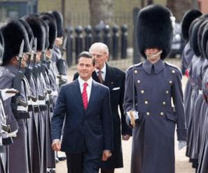 Así de vaciladora ha sido la visita de EPN al Reino Unido