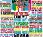 Así quedó el cartel de Glastonbury 2015