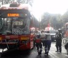 Choca el Metrobús: 21 heridos