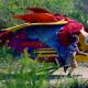 Nuevo video de Caribou o la historia de un niño y su pez gigante arcoíris volador