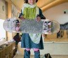 ¿Quién dijo que las niñas musulmanas no hacen skateboarding?