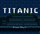 La película Titanic, recreada como videojuego de los noventa