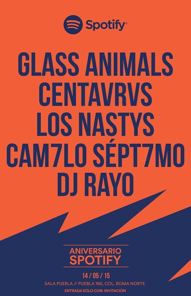 Glass Animals encabeza la fiesta de aniversario de Spotify