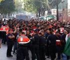 ¿Por qué protestan los bomberos?