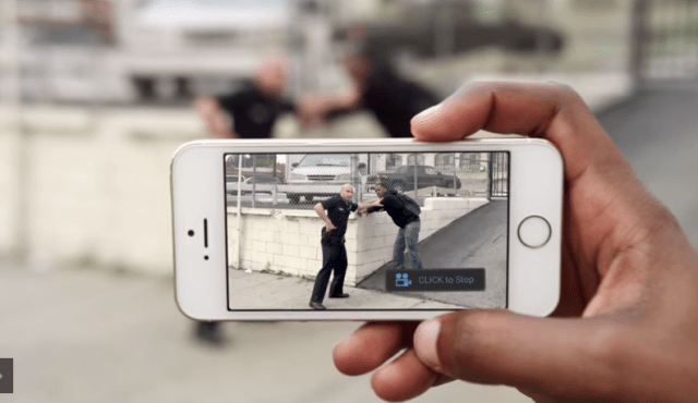 Lanzan aplicación para denunciar abusos de policías… sólo que en California