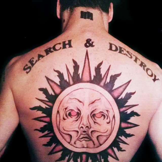 Henry Rollins - Tatuaje
