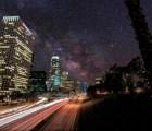 Así veríamos las estrellas en la ciudad sin contaminación lumínica
