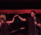 Mulder y Scully cantan y se besan en Nueva York