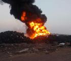 Se incendia el Bordo de Xochiaca