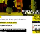 Exijamos la libertad inmediata de Adrián Vázquez #nosoymachoprieto