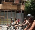 """""""Rodada nudista"""" por el respeto a los ciclistas"""