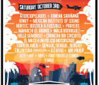 Así quedó el cartel del festival Supersónico en Los Ángeles