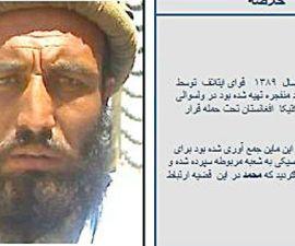 taliban cazarecompensas Mohammad Ashan