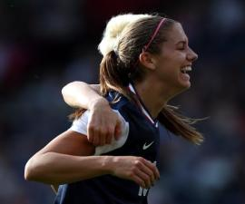 Goal Alex Morgan