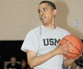 Obama-Basket-ball