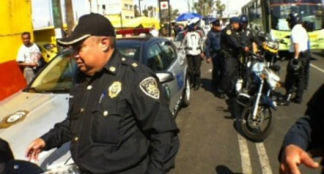 Policiadetieneaporrosenelmetro
