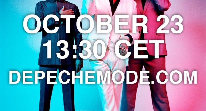 Live stream at depechemode.com
