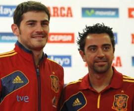 Xavi e Iker