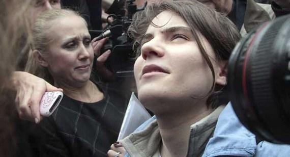 Yekaterina  Samutsévich Pussy riot
