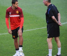 chicharito y ferguson
