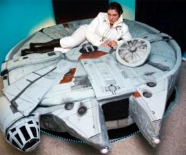 Cama para fanáticos de Star Wars