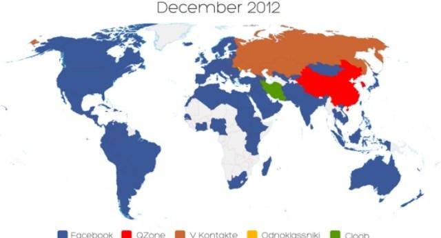 Facebook domina el planeta