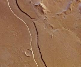 Río en Marte