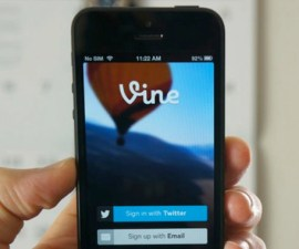 Vine y Apple