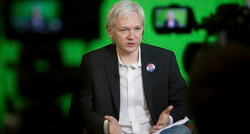 Julian Assange Oxford Union address