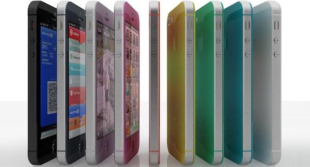 iPhone 5S en colores