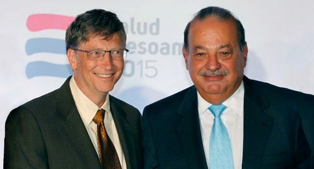 Bill Gates y Carlos Slim