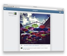 Instagram feed web