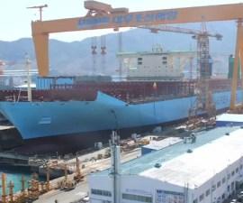 Maersk Triple-E time-lapse