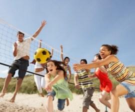 Adolescentes jugando
