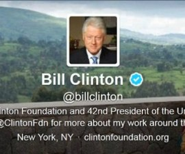 BillClintonTwitter 1