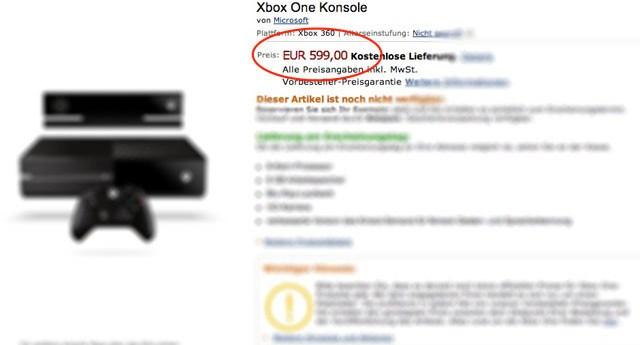 Xbox-One-precio