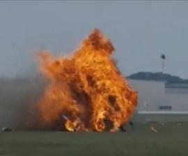 accidente aereo dayton