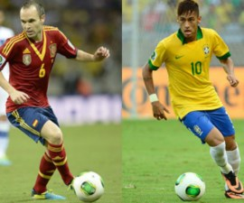 españa vs brasil 2013