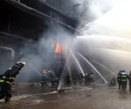 muertos en china incendio