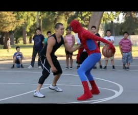 spiderman basquet