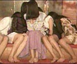 de la trata y la prostitución niñas