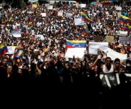 protestas venezuela
