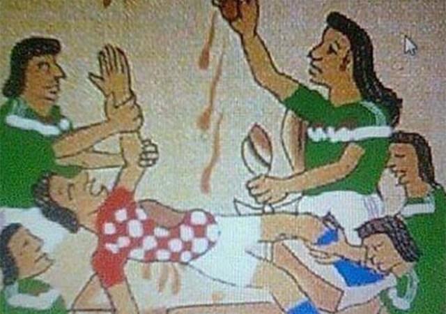 pelea mexicanos croatas